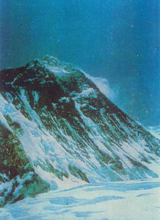 Юго-западная стена Эвереста