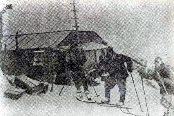 Метеорологическая станция на Эльбрусе - «Приют девяти». 1937 год