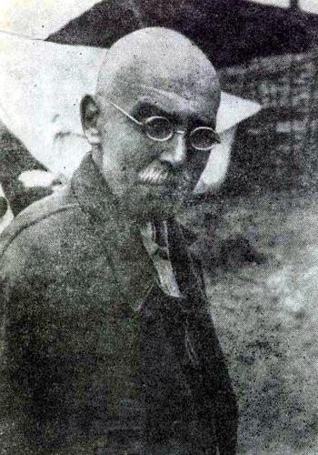 Организатор и руководитель первого лыжного похода вокруг восточной вершины Эльбруса профессор Московского университета В.А. Конопасевич. 1931 год