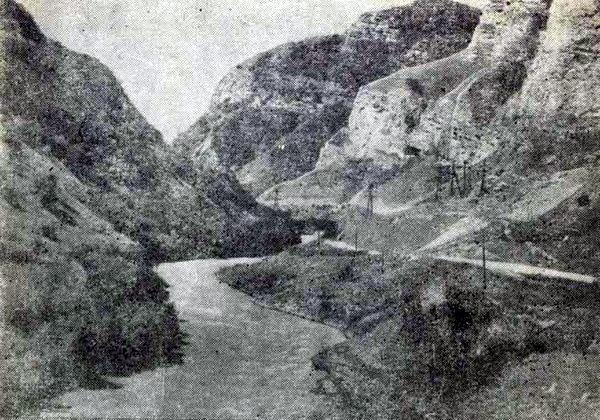 Баксанское ущелье. 1955 год