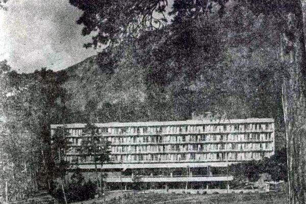 Приэльбрусье. Турбаза-гостиница «Азау»