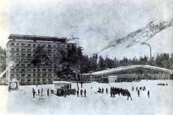Приэльбрусье. Турбаза-гостиница «Чегет»
