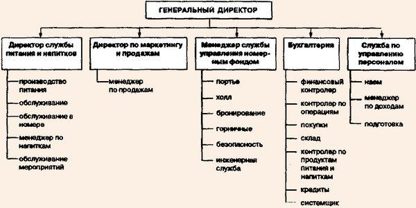 Структура управления ночного клуба в клубе афиша москва