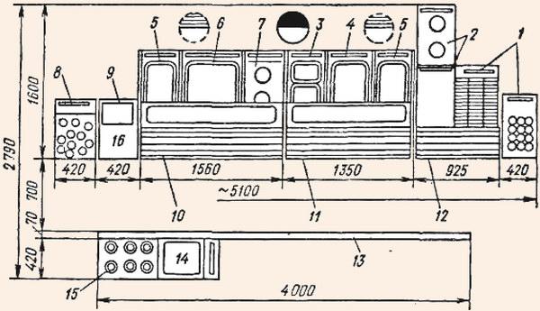 Установка подносов на транспортер при комплектации обедов схема управления конвейер