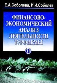 Соболева Е.А., Соболев И.И. Финансово-экономический анализ деятельности турфирмы