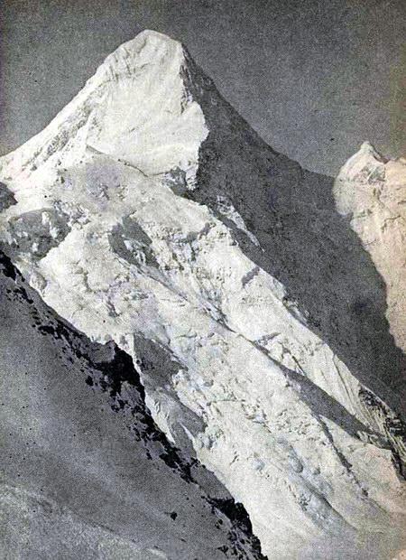 Пик Хан-Тенгри, северная стена, Тянь-Шань