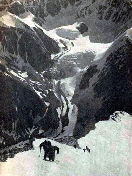 Восхождение на Джанги-тау, Кавказ