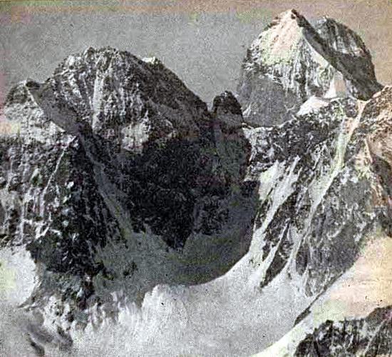 Легендарные вершины Чатын и Ушба, Кавказ