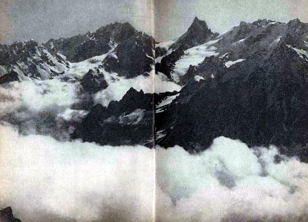 Вершины над облаками
