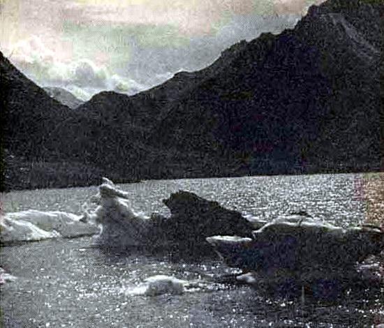 Центральный Тянь-Шань, озеро Мерцбахера