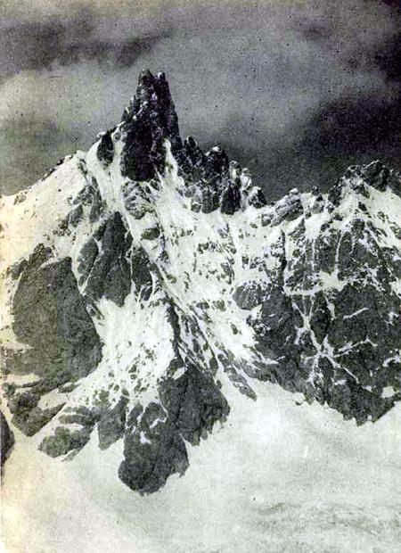 Вершина Шхельды-тау. Кавказ