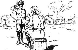 Хлопці з Мейфкінґу чудово виконували службу. Їх зібрано разом у кадетський корпус, одягнено в однострої і навчено муштри