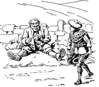Хлопець Роберт Гіндмарш помітив зовнішній вигляд волоцюги, не звертаючи надто на себе його уваги