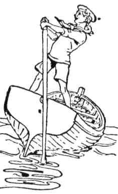 Навчись правильно веслувати й орудувати навіть одним веслом