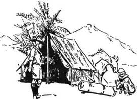Шатро підвищене чи з стінкою - улюблена модель шатра дослідників у багатьох частинах світу