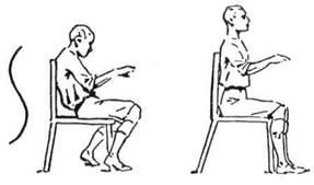Як потрібно правильно сидіти