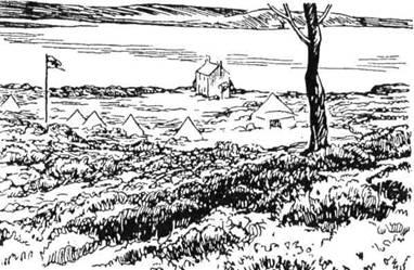 Острів Бравнсі побачив перший у світі пластовий табір влітку 1907