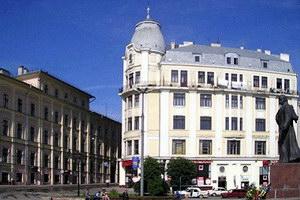 Колишній готель «Під Чорним Орлом»