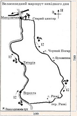 Зразок інформаційного (стендового) оформлення туристичного маршруту на  місцевості 0b2196717334f