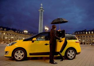 такси во Франции