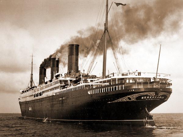Первый трансатлантический лайнер «Беренгария»