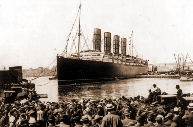 Круизный лайнер «Lusitania»