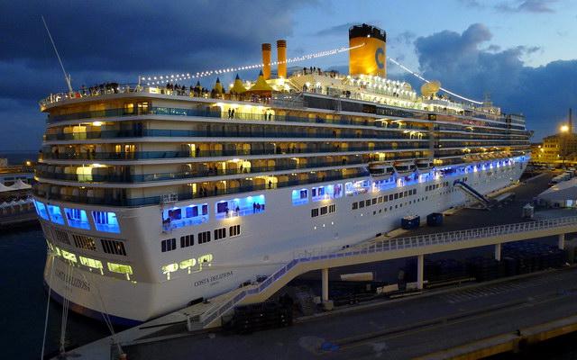 Современный круизный лайнер «Costa Deliziosa»