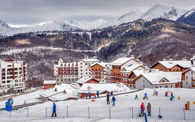 горнолыжный курорт Красная Поляна