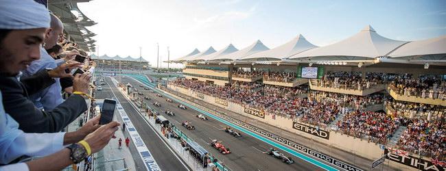 Гоночная трасса Yas Marina Circuit