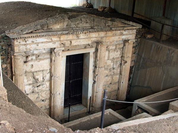 Царская гробница в Вергине