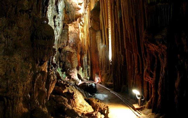 пещеры в Мерсине
