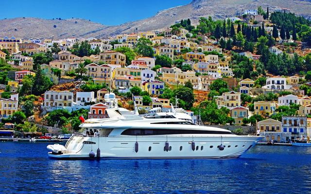 Чартер яхты в Греции