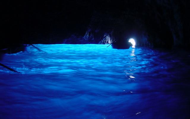 Голубой грот на острове Родос
