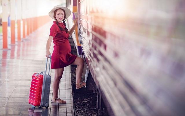 путешествие поездом во время беременности