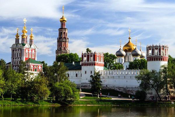 ансамбль Новодевичьего женского монастыря