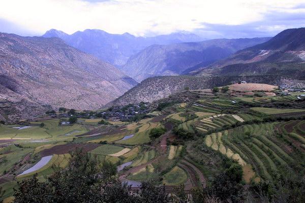Типичный ландшафт провинции Юньнань