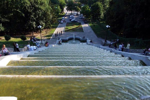 фонтан Каскад в Харькове