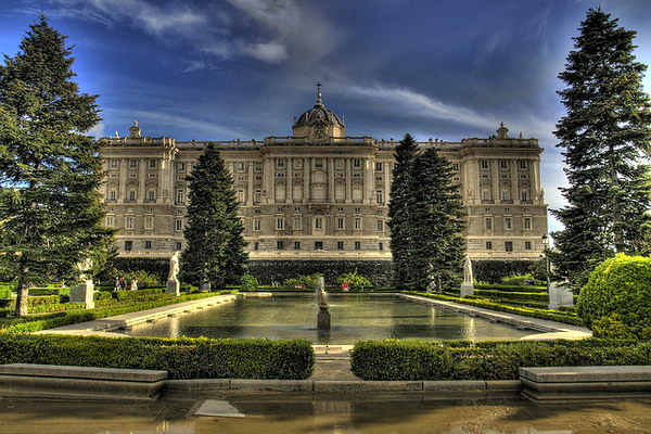 королевкий дворец в Мадриде