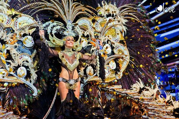 Карнавал-2015 в Санта Крус де Тенерифе - избрание королевы