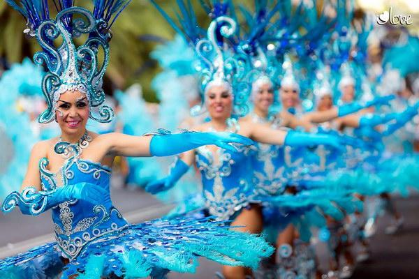 Карнавал-2015 в Санта Крус де Тенерифе - главное шествие
