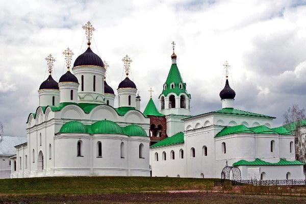 Спасо-Преображенский монастырь в Казани