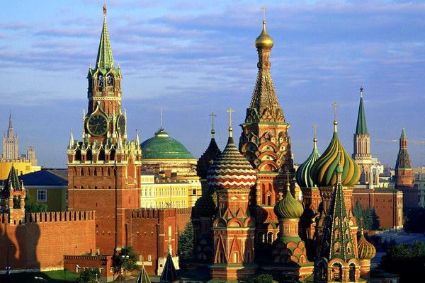 Московский Кремль и Собор Василия Блаженного