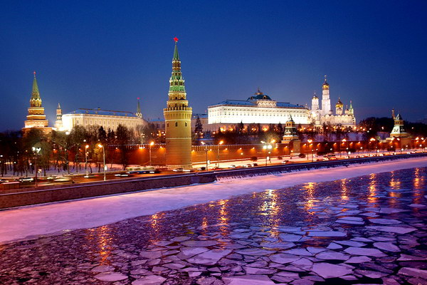 Вечерняя Москва. Красная площадь