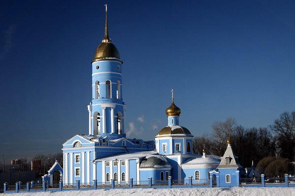 Храм Владимирской иконы Божьей Матери в г. Мытищи
