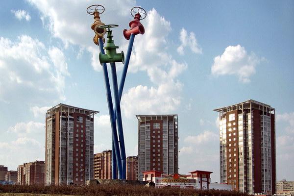 памятник водоролводу в г. Мытищи