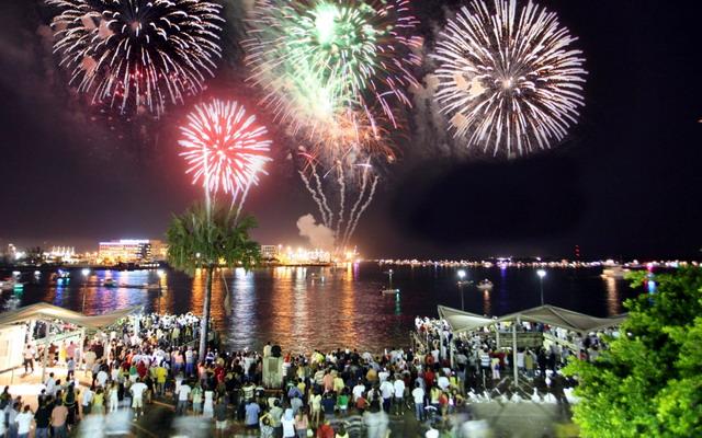 Новый год в майами отметить