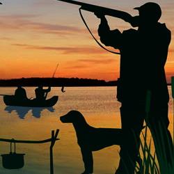 Рыбалка и охота: отдых настоящих мужчин