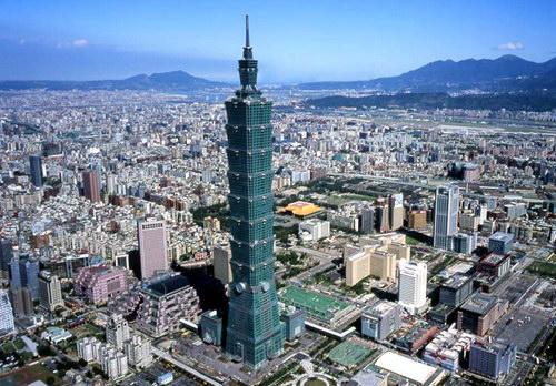 Здание Тайбей 101 в Тайване