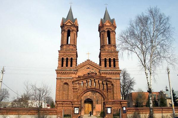Костел Святой Варвары в Витебске
