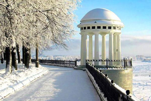 Зимние пейзажи Ярославля потрясают воображение